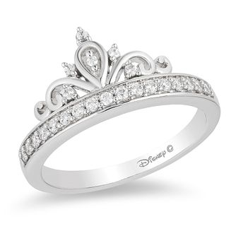 Enchanted Disney Fine Jewelry Diamond Princess Ring - Product number 8593957
