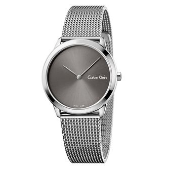 Calvin Klein Ladies' Stainless Steel Mesh Bracelet Watch - Product number 8599572