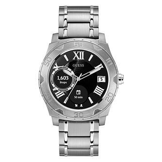 Guess Connect Touch Stainless Steel Bracelet Smartwatch - Product number 8600384