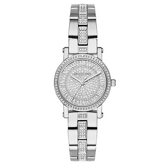 Michael Kors Norie Ladies' Stainless Steel Stone Set Watch - Product number 8600465