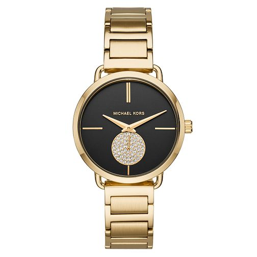 Michael Kors Portia Ladies' Stone Set Bracelet Watch - Product number 8600716