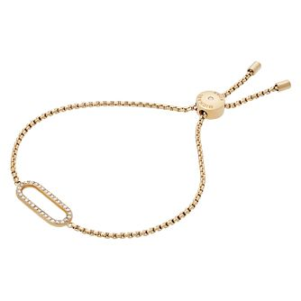 Michael Kors Chic Link Ladies' Yellow Gold Tone Bracelet - Product number 8601178