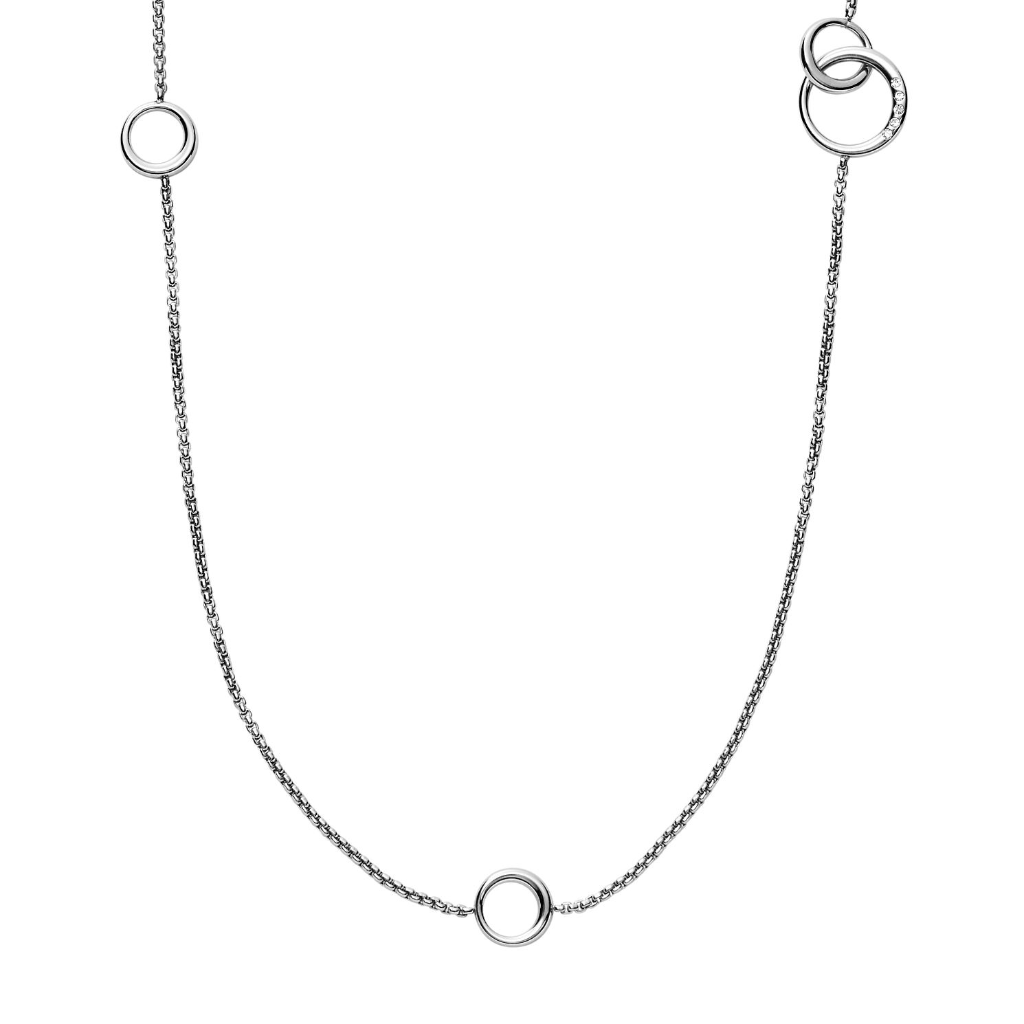 Skagen Elin Ladies' Stainless Steel Long Necklace - Product number 8601283