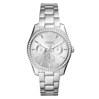 Fossil Scarlette Ladies' Stone Set Bracelet Watch - Product number 8601658