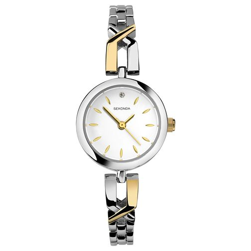 Sekonda Ladies' Two Tone Bracelet Watch - Product number 8602115