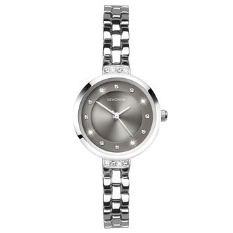 Sekonda Ladies' Silver Tone Bracelet Watch - Product number 8602182