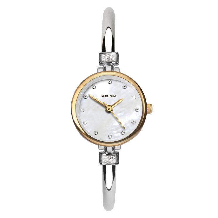 Sekonda La s Semi Bangle Bracelet Watch