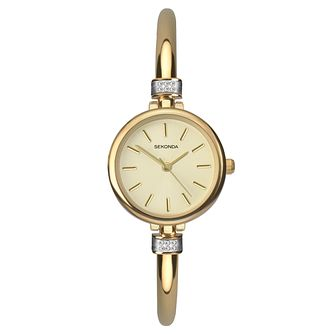 Sekonda Ladies' Gold Plated Bracelet Watch - Product number 8602239