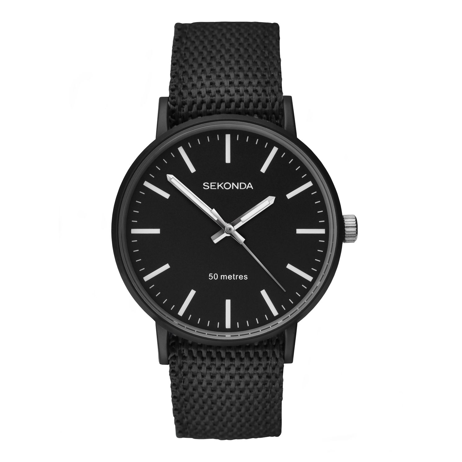 Sekonda Men's Black Reversible Strap Watch - Product number 8602514