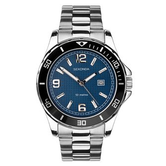 Sekonda Men's Stainless Steel Bracelet Watch - Product number 8602581
