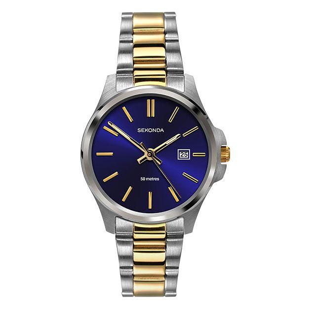 Sekonda La s Two Tone Stainless Steel Bracelet Watch