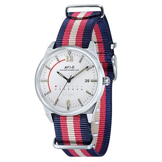 AVI-8 Men's Hawker Hurricane Nylon Nato Strap Watch - Product number 8602948
