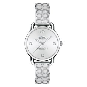 Coach Signature Ladies' Stainless Steel Bracelet Watch - Product number 8609780