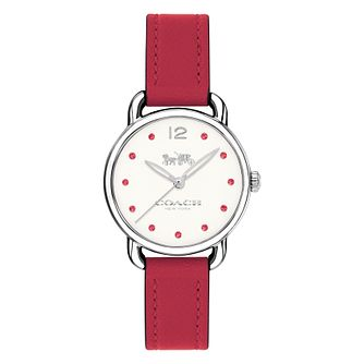 Coach Colour Ladies' Pink Strap Watch - Product number 8609810
