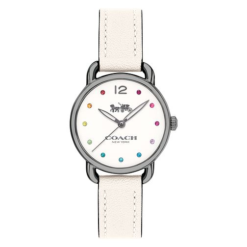 Coach Charm Ladies' Multicoloured Stone Set Strap Watch - Product number 8609845