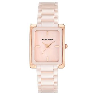 Anne Klein Ladies' Pink Ceramic Bracelet Watch - Product number 8621713