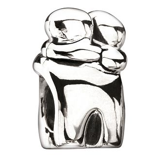 Chamilia sterling silver hug bead - Product number 8642478