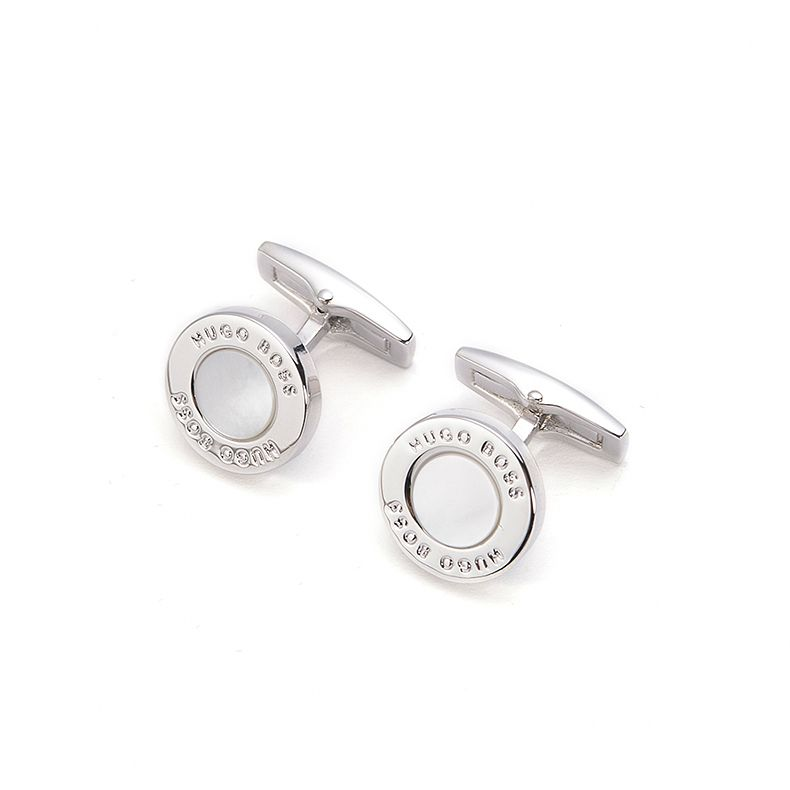 BOSS Men's T-Round Mother Of Pearl Cufflinks - Product number 8648077