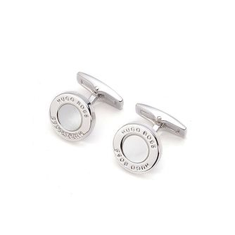 Hugo Boss Men's T-Round Mother Of Pearl Cufflinks - Product number 8648077