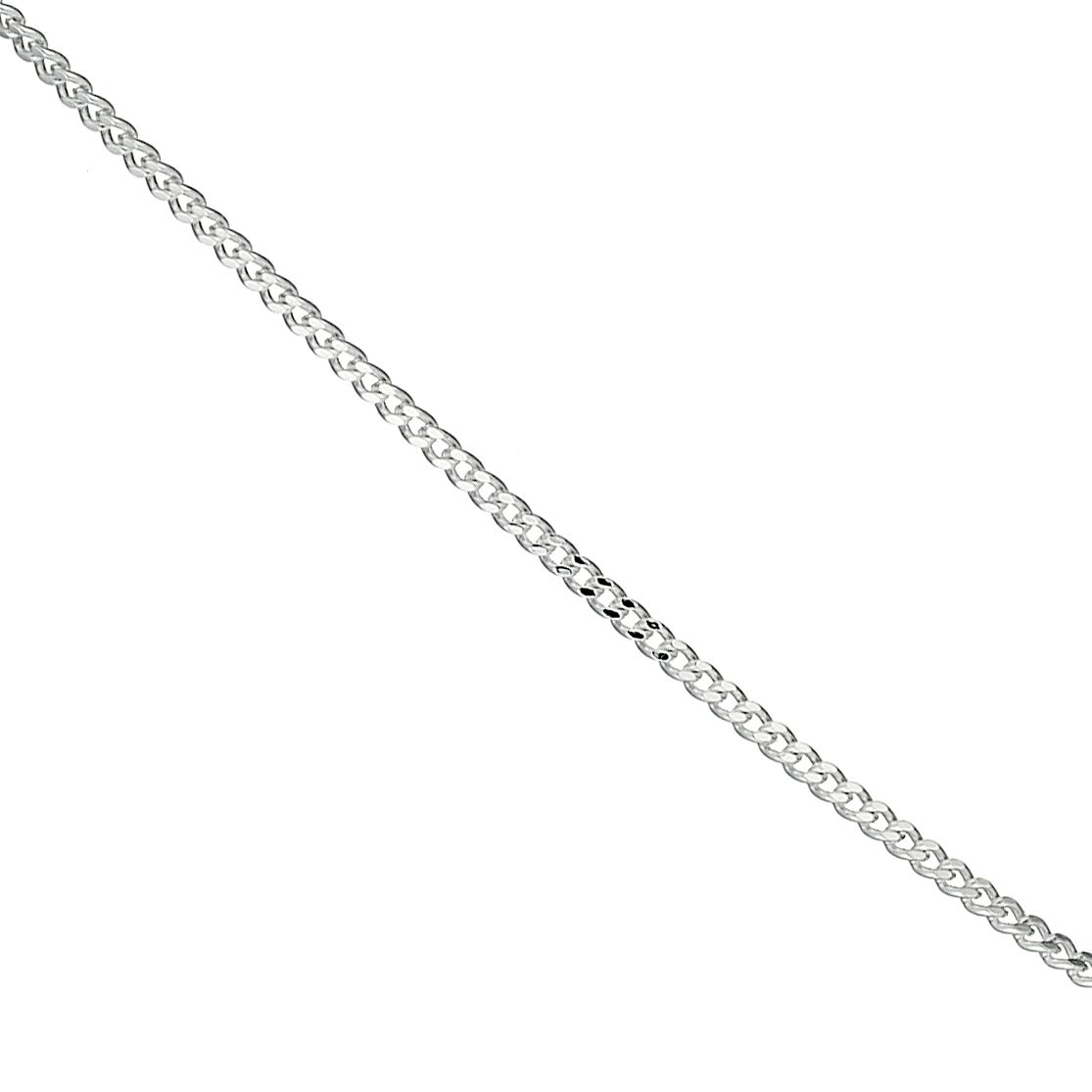 Sterling Silver 18 Inch Curb Chain - Product number 8650977