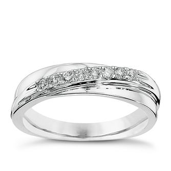 9ct White Gold Diamond Eternity Ring - Product number 8668728