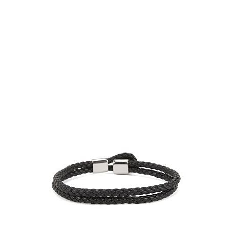 BOSS Bert Leather Black Bracelet - Product number 8691657