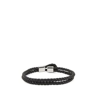 Hugo Boss Bert Leather Black Bracelet - Product number 8691657