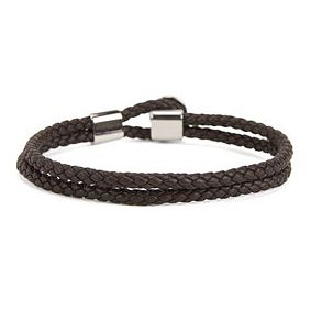BOSS Bert Leather Brown Bracelet - Product number 8691983