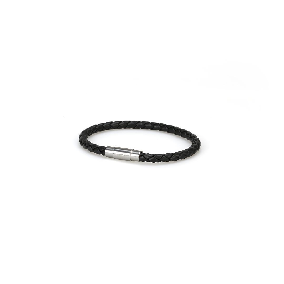 BOSS Leather Blaine Black Bracelet Qx - Product number 8691991