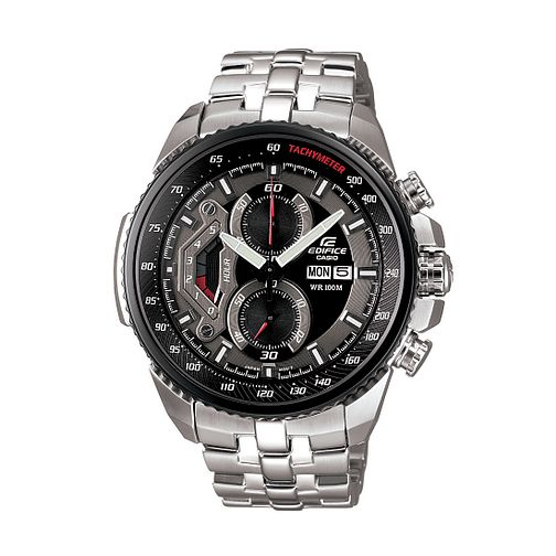 Casio Edifice Men's Black Dial Chronograph Watch - Product number 8692874