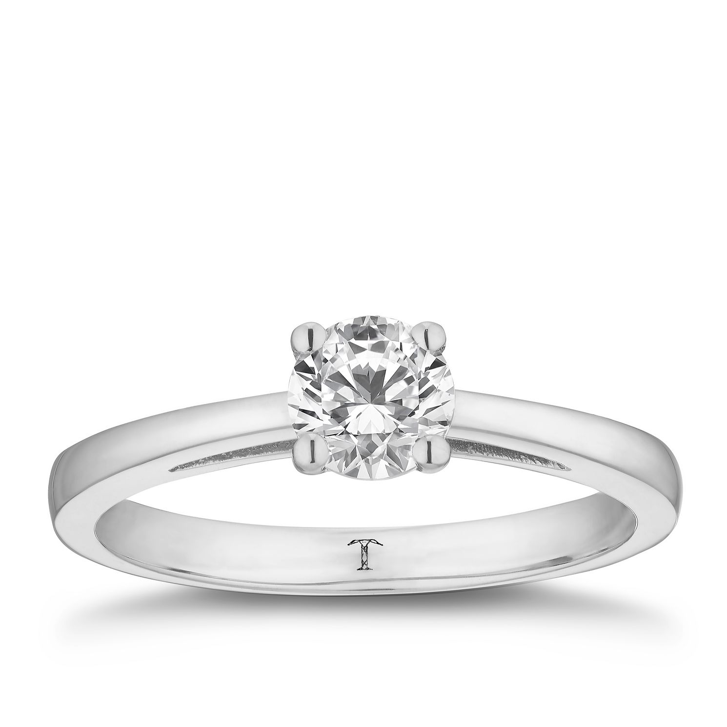 Tolkowsky 18ct White Gold 2/3ct Hi-Si2 Diamond Ring - Product number 8698007