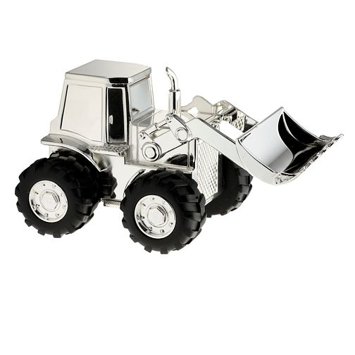 Childhood Memories Silver Plated Digger Money Box - Product number 8710678