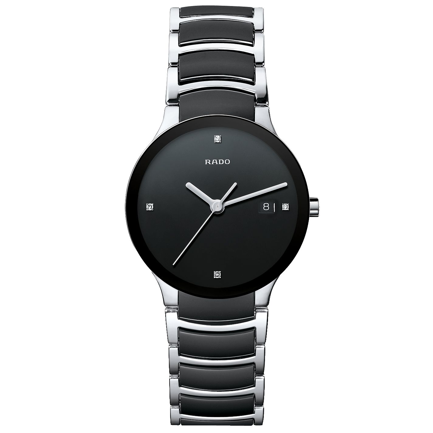 Rado Men's Black Ceramic Bracelet Watch - Product number 8712255