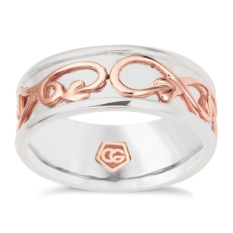 Clogau Silver & Rose Gold Tree Life Ring