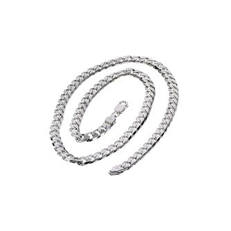 Sterling Silver 20 Inch Curb Chain - Product number 8787476