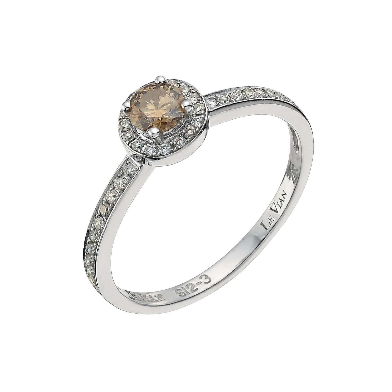 Le Vian 14ct Gold 0.40ct Vanilla & Chocolate Diamond Ring - Product number 8788812