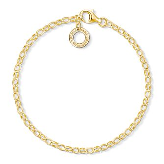 Thomas Sabo Ladies' Yellow Gold Plated Charm Bracelet - Product number 8794413