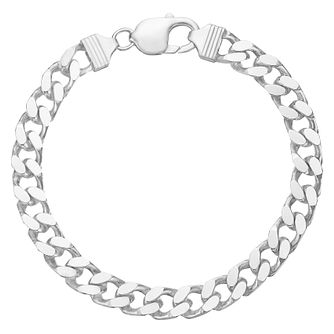 Sterling Silver 8.5 Inch Curb Bracelet - Product number 8802130