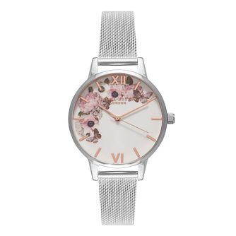 653454d10 Olivia Burton Signature Floral Ladies' Stainless Steel Watch - Product  number 8817030