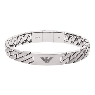 8cd88f5984bc03 Emporio Armani Men's Stainless Steel Chain Link Bracelet - Product number  8817154