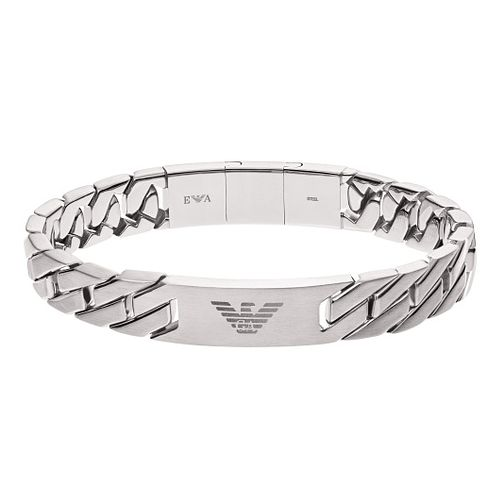 3ca69c3cf5f2b Emporio Armani Men's Stainless Steel Chain Link Bracelet - Product number  8817154