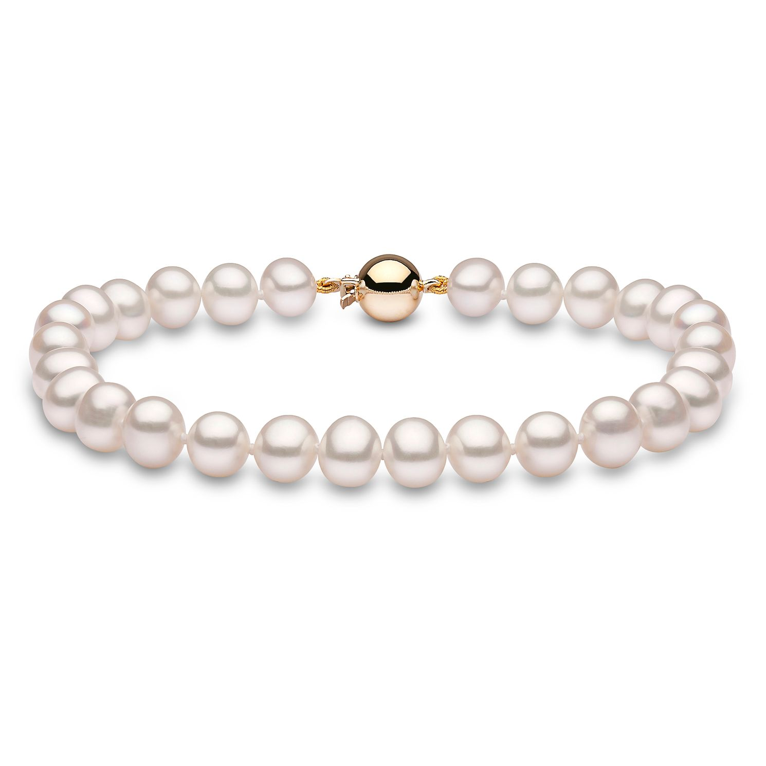 Ernest Jones Pearl Collection 9ct Gold 6mm Strand - Product number 8822700