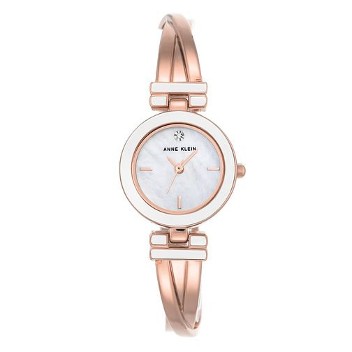 Anne Klein Ladies' Rose Gold Tone Bracelet Watch - Product number 8889376