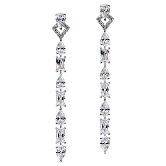 CARAT* LONDON Ladies' Madison Drop Earrings - Product number 8909695