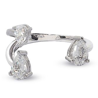 CARAT* LONDON Ladies' Noa Asia Ring Size N - Product number 8909873