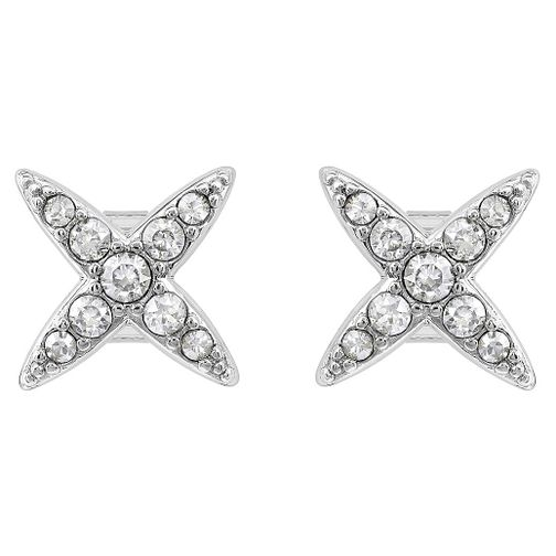 Adore Ladies' Rhodium 4 Point Star Earrings - Product number 8919518