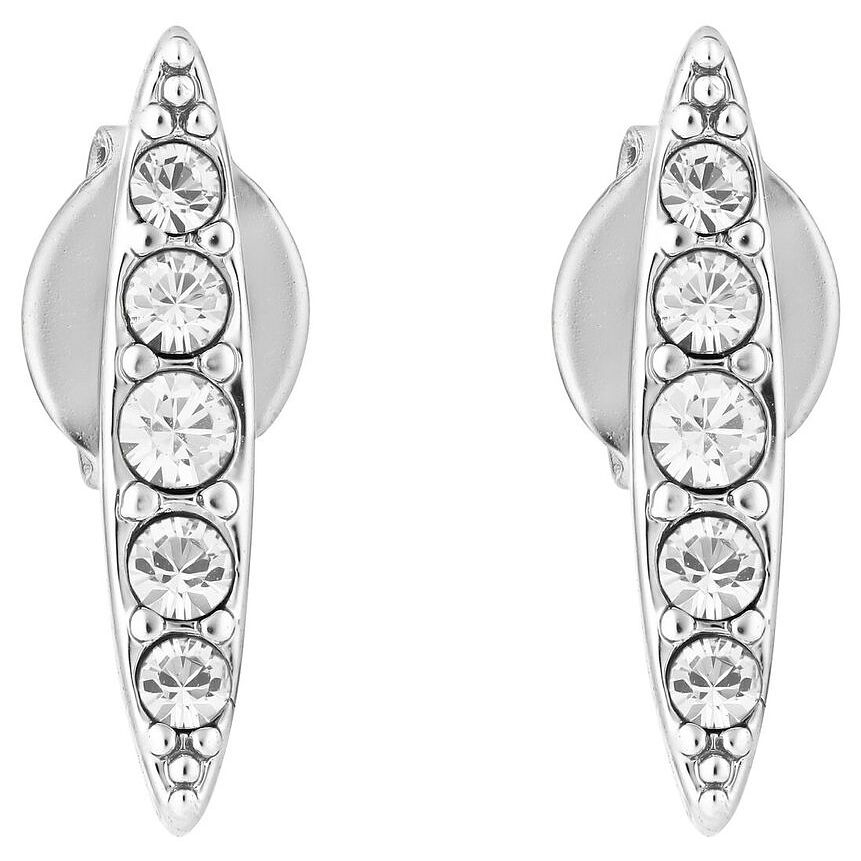 Adore Ladies' Rhodium Plated Navette Stud Earrings - Product number 8919623