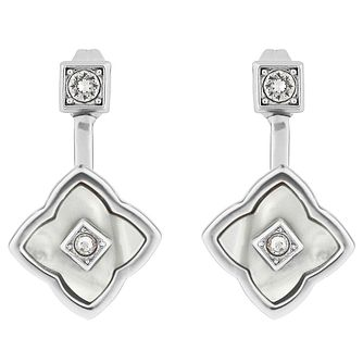 Adore Ladies' Rhodium Floret Jacket Earrings - Product number 8919720