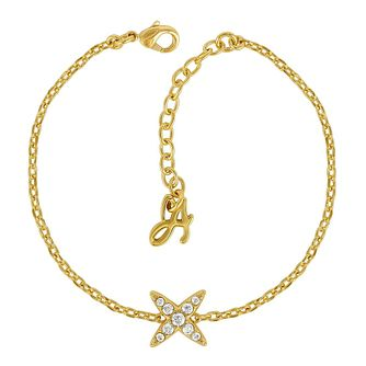 Adore Ladies' Yellow Gold Plated Star Bracelet - Product number 8919933