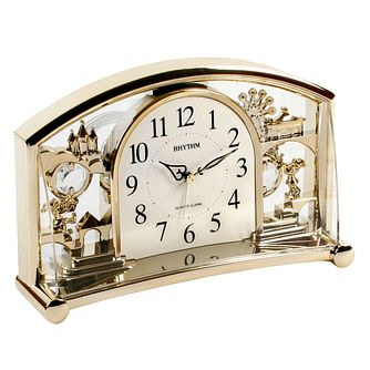 WM. Widdop Rhythm Mantel Quartz Alarm Clock - Product number 8921717